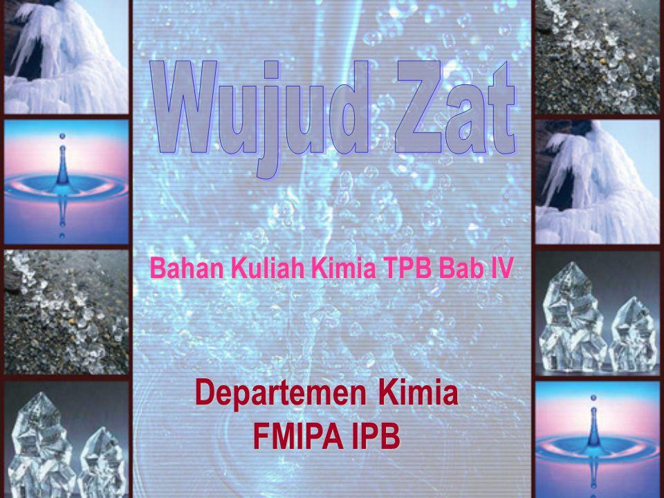 Bahan Kuliah Kimia TPB Bab IV Departemen Kimia FMIPA IPB