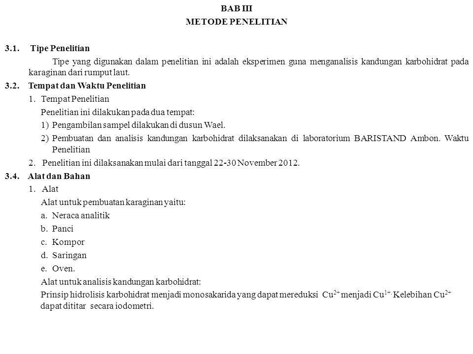 BAB III METODE PENELITIAN 3.1.