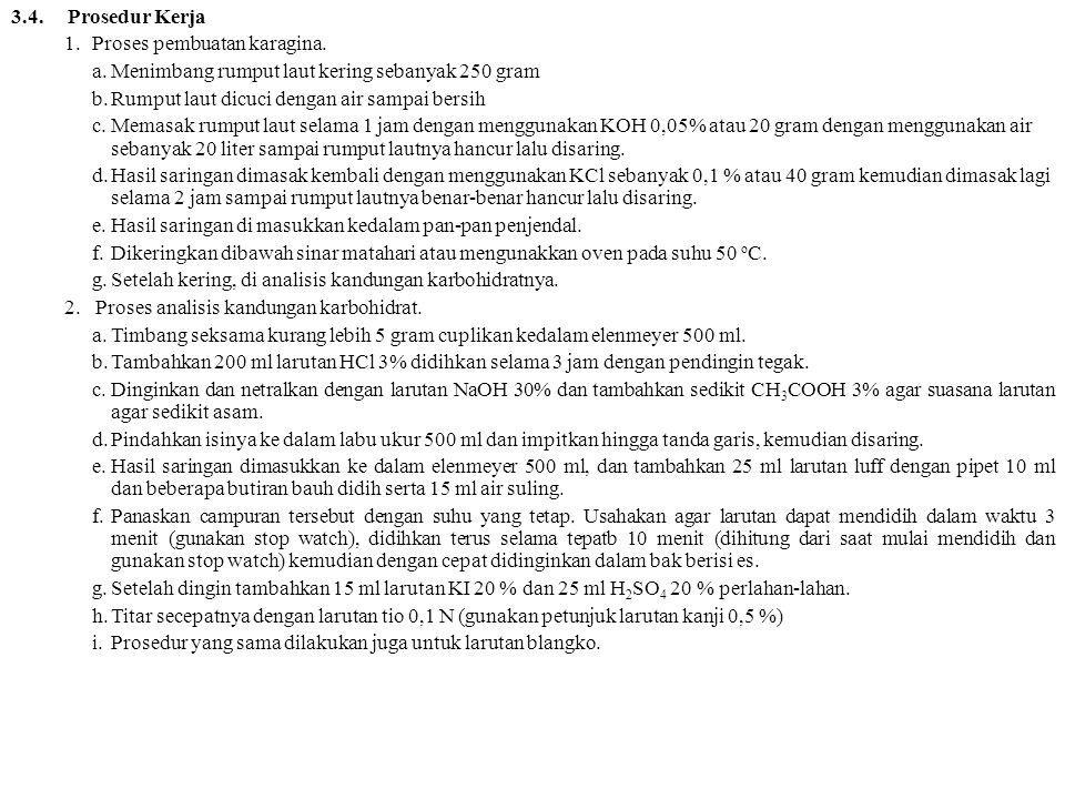 3.5.Teknik Analisis Data Perhitungan: (Blangko-penitar) x N tio x 10.