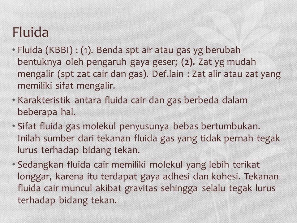 Fluida Fluida (KBBI) : (1).