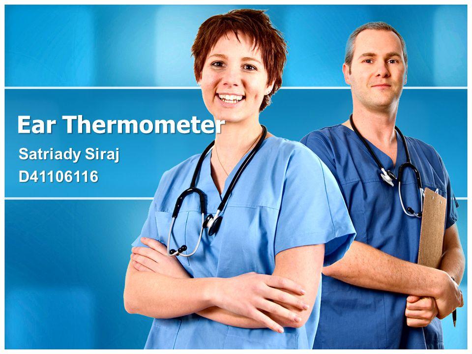 Ear Thermometer Satriady Siraj D41106116