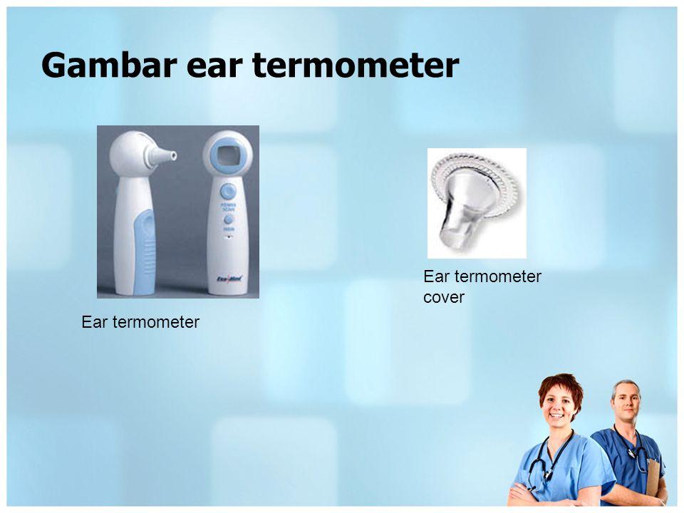 Spesifikasi alat Ambient sensor yang digunakan untuk mengukur suhu dari sensor adalah termistor.