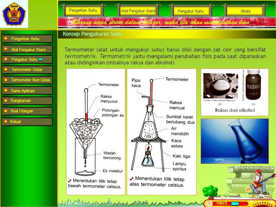 Pengertian Suhu Alat Pengukur Alami Pengukur Suhu Termometer Gelas Termometer Non Gelas Sains Aplikasi Rangkuman Soal Ulangan Barang siapa serius dala