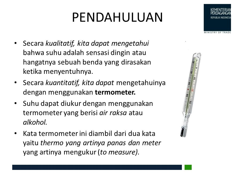 KAJIAN PUSTAKA Konstruksi Termometer