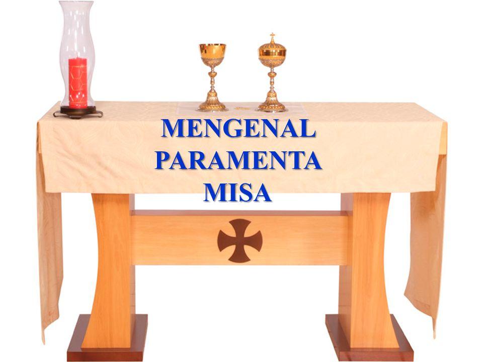 MENGENAL PARAMENTA MISA