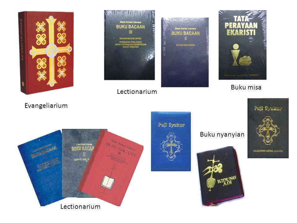 Evangeliarium Lectionarium Buku misa Buku nyanyian