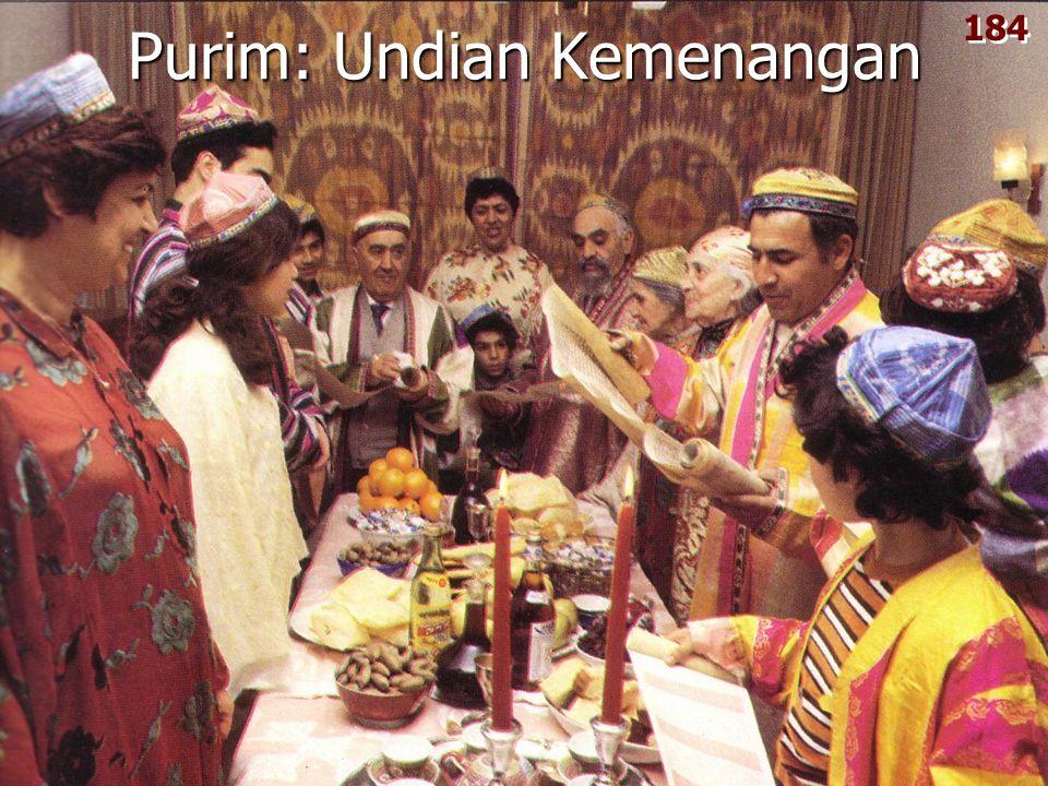 Purim: Undian Kemenangan 184