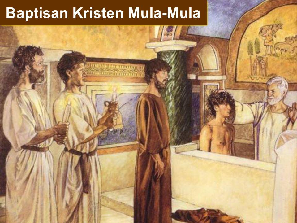 Baptisan Kristen Mula-Mula