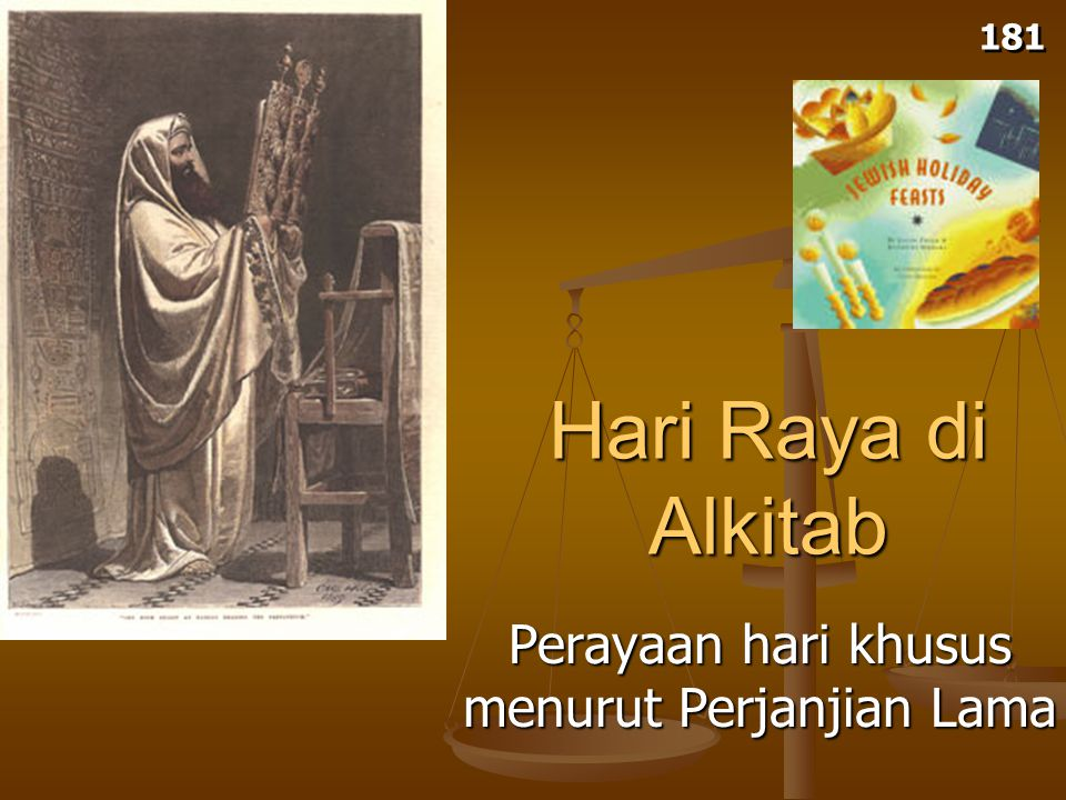 Pentakosta: Perayaan Ziarah #2 (Pentakosta) 184 (Roti Tidak Beragi) (Panen Perdana) Perayaan Ziarah dilingkari dan dicetak hijau Penebusan Pemisahan Kebangkitan Roh Kudus