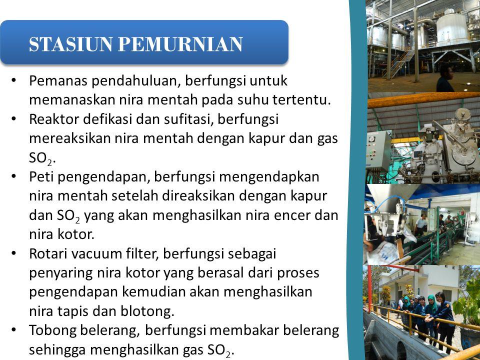 Upaya Produksi Bersih Pabrik gula kebon agung menjaga kebersihan mengenai produksinya yaitu diruang pengepakan.