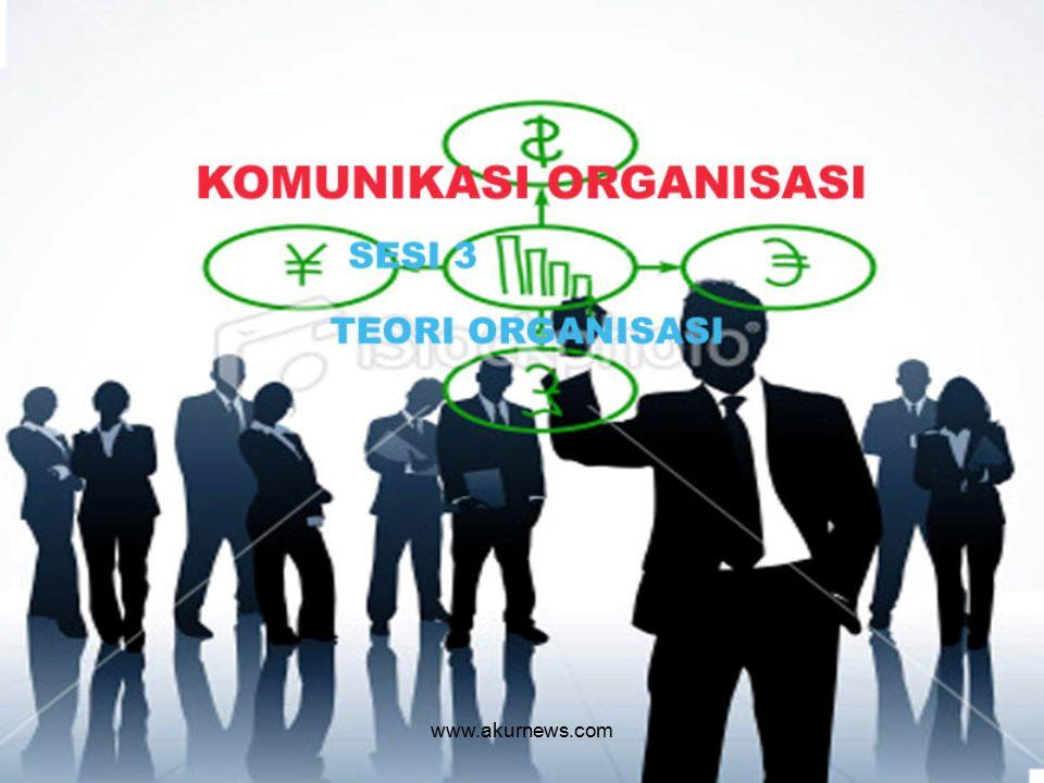 Konsep dan Teori Organisasi : Teori Struktural Klasik Teori Human Relations Teori Mutakhir www.akurnews.com