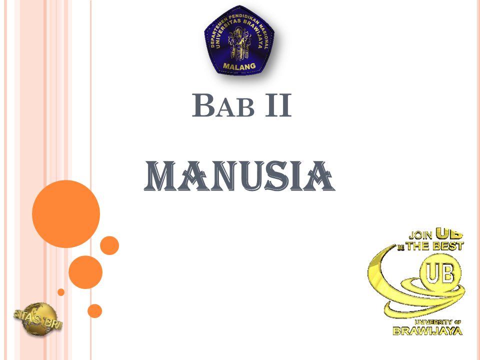 B AB II MANUSIA