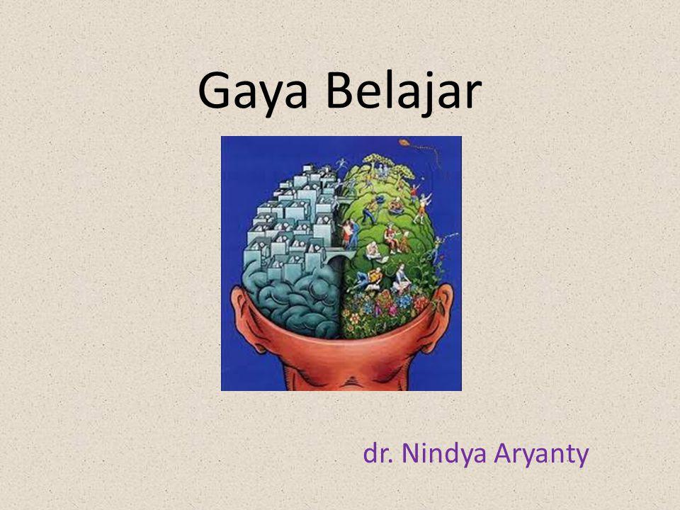 Gaya Belajar dr. Nindya Aryanty