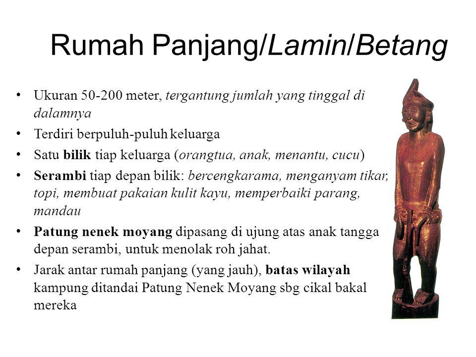 Ritual Aruh Ganal Aruh=roh, memanggil roh nenek moyang, arwah pangeran/raja yg dimohonkan hadir dlm upacara Dipimpin oleh Balian, perantara dengan arwah leluhur dengan cara menari-nari.