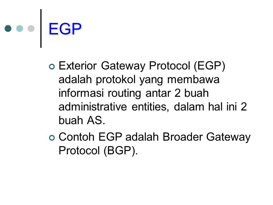 Routing Information Protocol RIP adalah protokol routing yang menggunakan algoritma routing distance-vector learning atau Bellman-Ford.