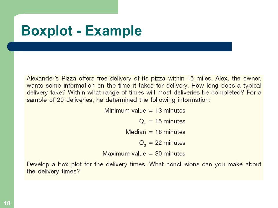 18 Boxplot - Example