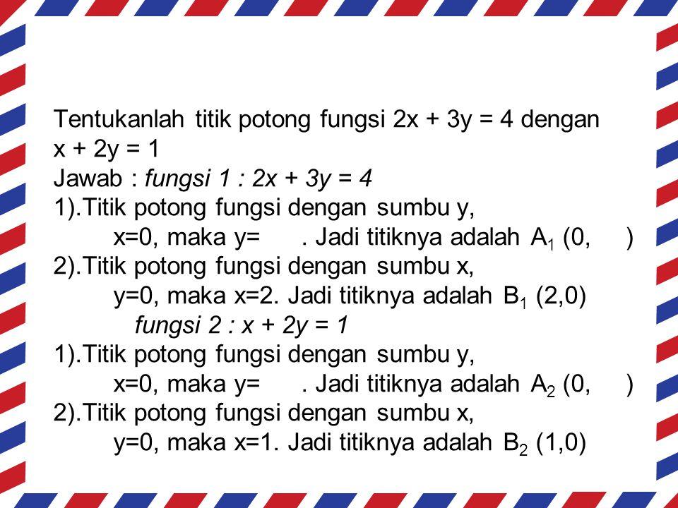 x012345678910 y11,30,70-0,7-1,3-2-2,7-3,3-4-4,7-5,3 y20,50-0,5-1,5-2-2,5-3-3,5-4-4,5 y x (5, -2)