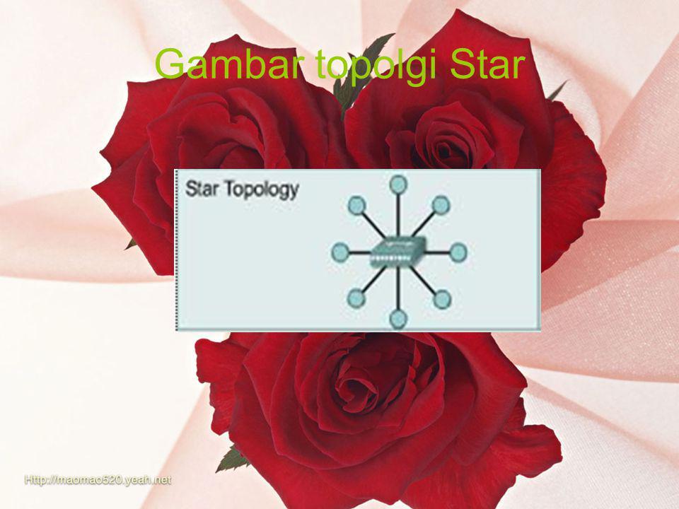 Gambar topolgi Star
