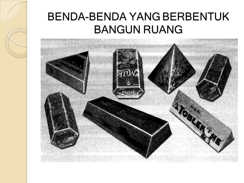 BENDA-BENDA YANG BERBENTUK BANGUN RUANG