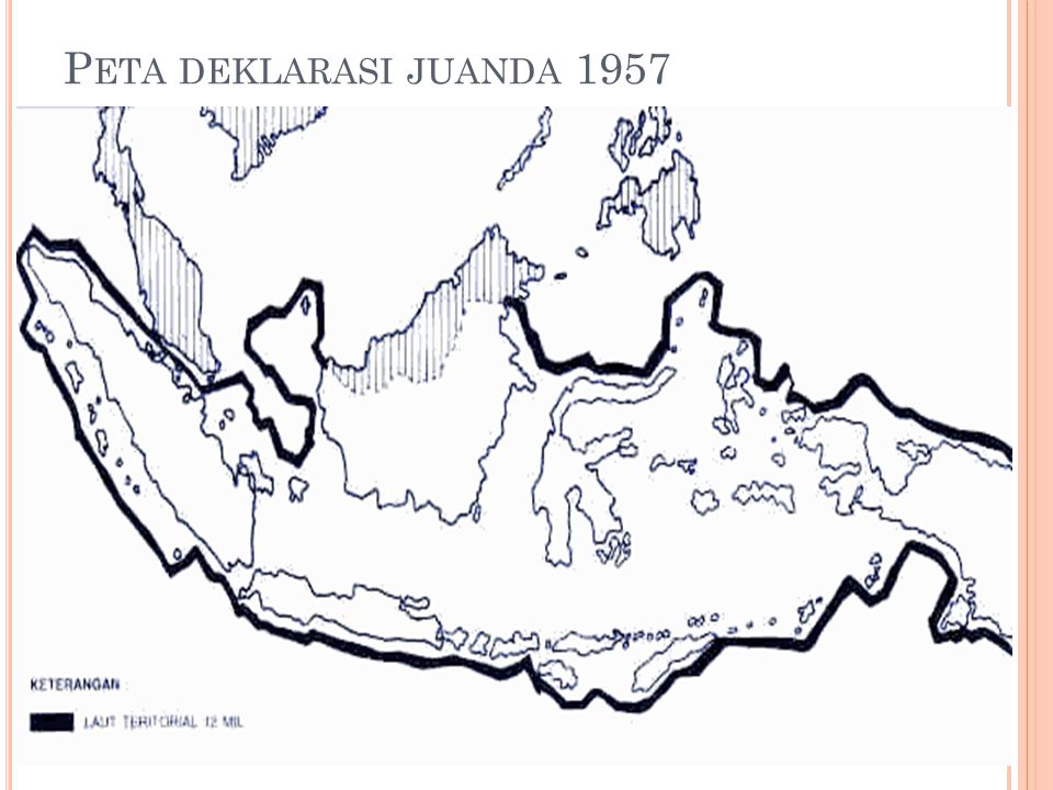 P ETA DEKLARASI JUANDA 1957