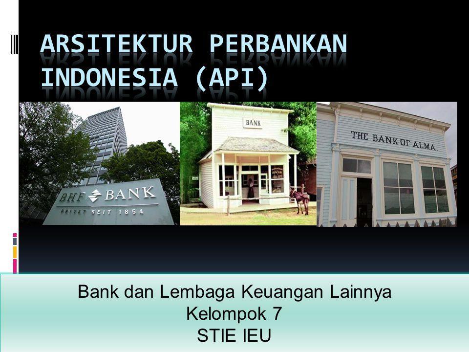 Bank dan Lembaga Keuangan Lainnya Kelompok 7 STIE IEU