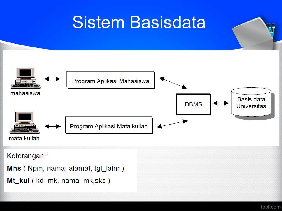 Sistem Basisdata