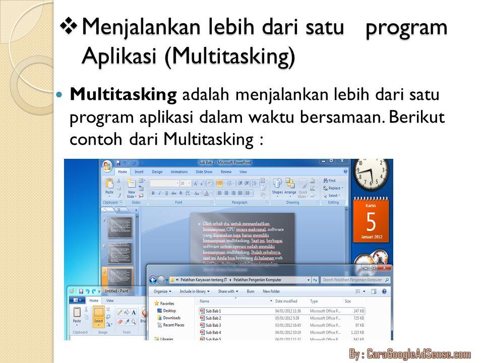  Manajemen layar Windows 7 Manajemen layar Windows dapat dilakukan dengan cara Didalam dekstop kita dapat mengganti tampilan dengan cara klik kanan pilih Personalize, disitu kita dapat memilih berbagai macam tema atau wellpaper yang sesuai kita inginkan.