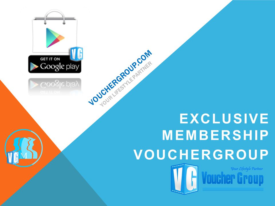 VOUCHERGROUP.COM YOUR LIFESTYLE PARTNER EXCLUSIVE MEMBERSHIP VOUCHERGROUP