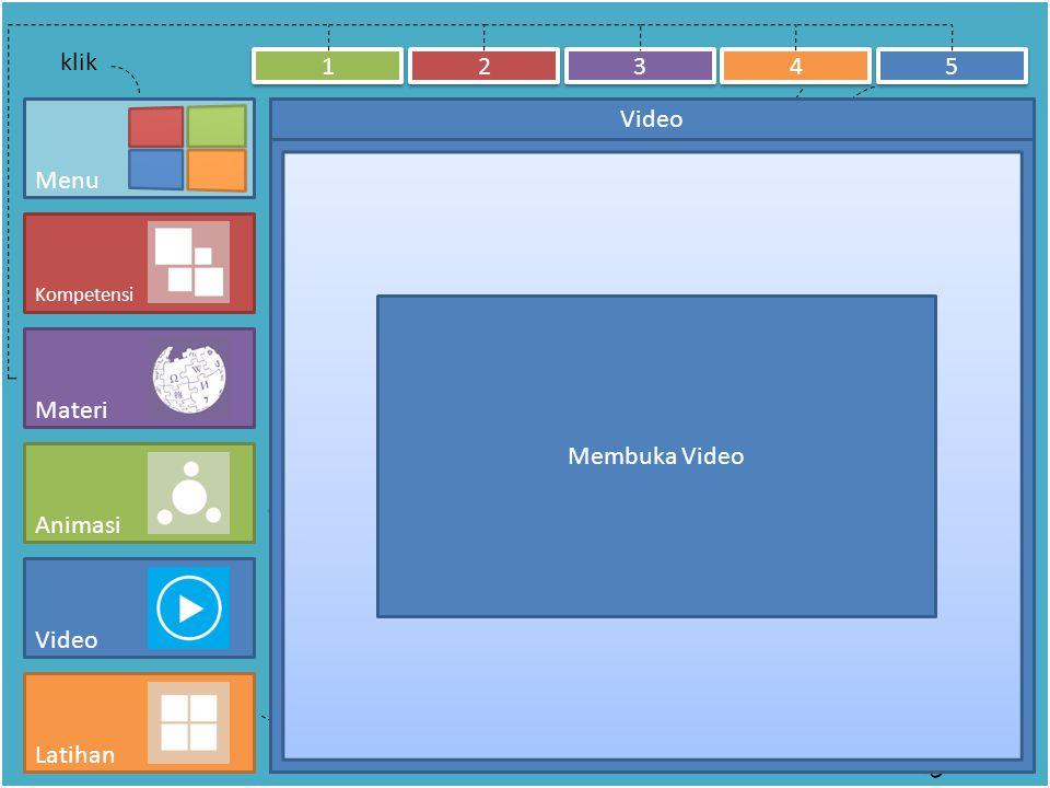 klik nomor untuk membuka dan menutup klik kategori untuk membuka dan menutup MateriAnimasiVideoLatihan 1.