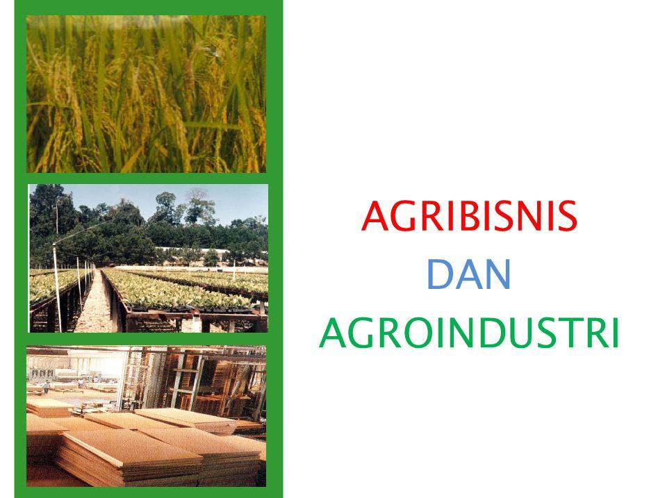 AGRIBISNIS DAN AGROINDUSTRI TOPIK 12