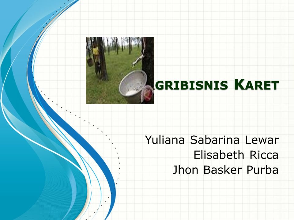 Pendahuluan Karet merupakan komoditi perkebunan yang sangat penting peranannya di Indonesia.