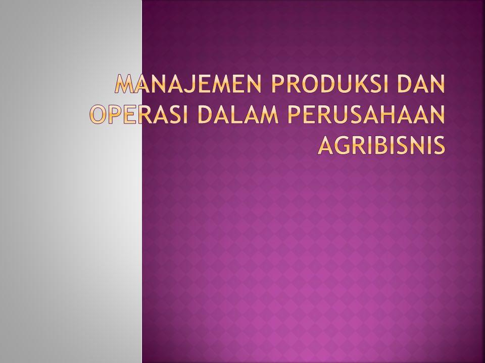  Produksi adalah seperangkat prosedur dan kegiatan yang terjadi dalam penciptaan produk atau jasa.