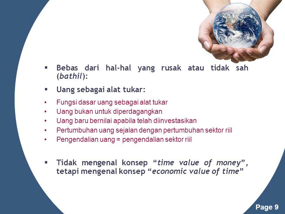 Page 8 Pelarangan Maysir dalam Perspektif Ekonomi Larangan penimbunan barang (hadis) dikarenakan ber- dampak pada berkurangnya agregat supply barang & jasa.
