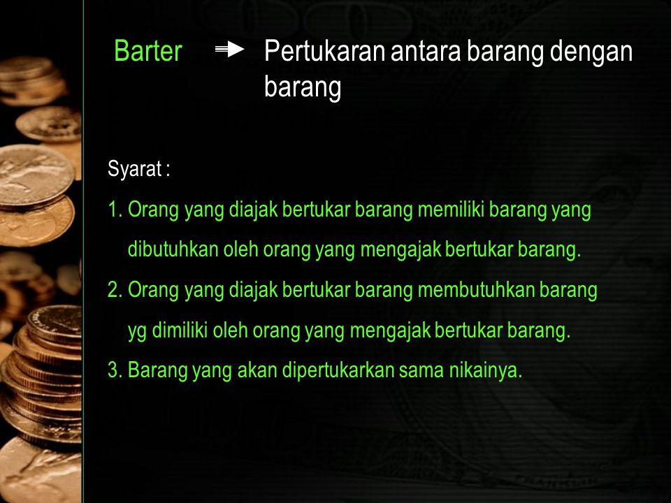  Motif yang mendorong masyarkat memegang (meminta) uang : 1.Motif Transaksi (Transaction Motive) : merupakan kebutuhan masyarakat akan uang untuk melancarkan transaksi sehari-hari 2.Motif Berjaga- jaga (Precautionary Motive) : merupakan kebutuhan masyarakat akan uang untuk mengantisipasi kejadian yang tidak bisa diramalkan sebelumnya 3.Motif Spekulasi (Speculative Motive) : motif ini muncul setelah permintaan uang untuk transaksi dan berjaga-jaga terpenuhi
