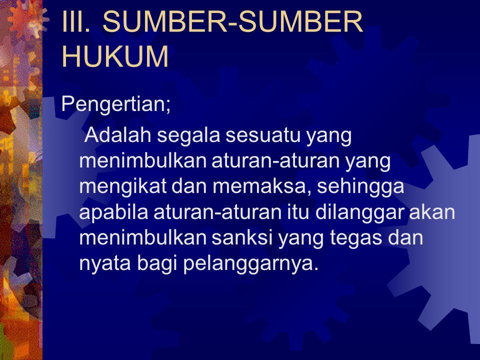 Khusus Indonesia Selain sistem hukum yang disebutkan di atas juga dikenal: 5. Sistem Hukum Adat