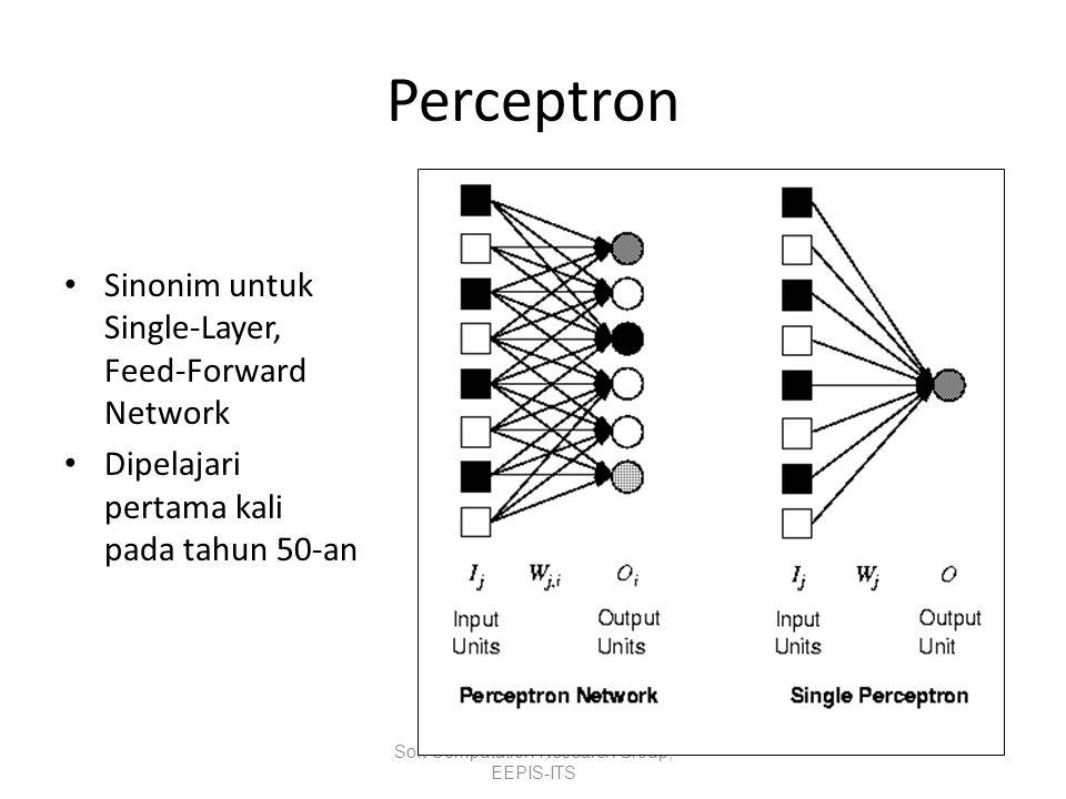 What can perceptrons represent.