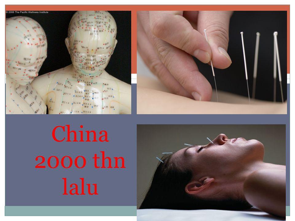 China 2000 thn lalu