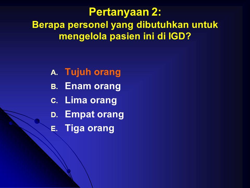 Pertanyaan 9: Bagaimanakah strategi operatif yang terpilih .