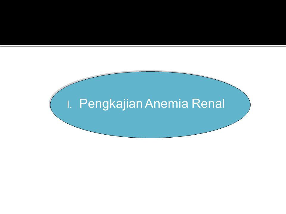 I. Pengkajian Anemia Renal