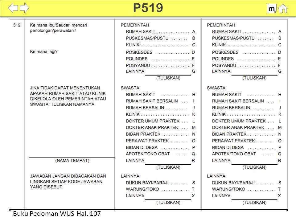 100% SDKI 2012 P519 m Buku Pedoman WUS Hal. 107