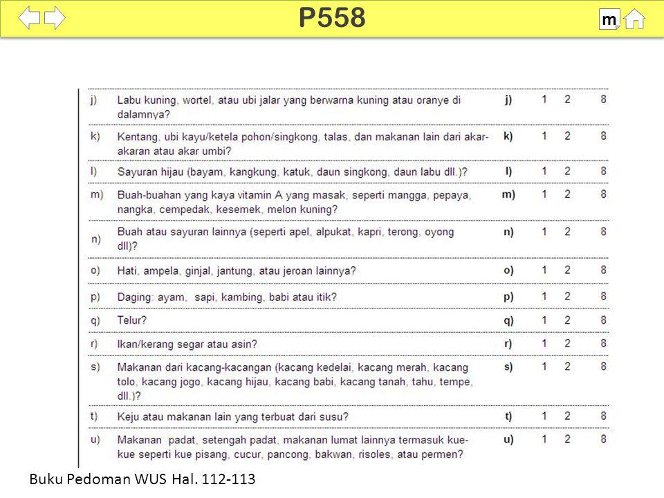 100% SDKI 2012 P558 m Buku Pedoman WUS Hal. 112-113