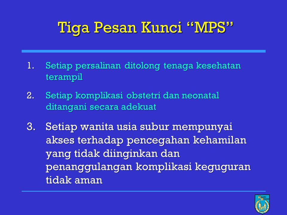 March 15 9 Source: IDHS 2002-2003, and the projection agreement of MOH Kecenderungan AKI di Indonesia dan Proyeksi Penurunannya AKI 2007 = 248 / 100.000