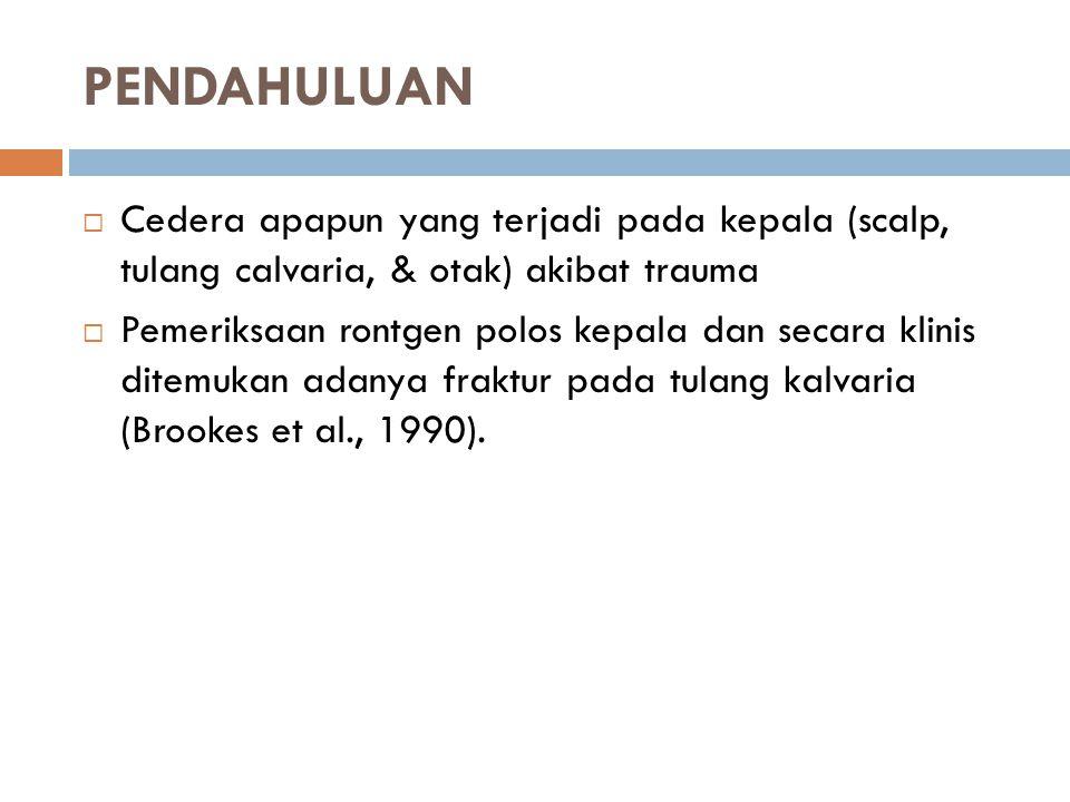 Kompliance Otak : Tekanan Intrakranial ~ Volume Intrakranial.