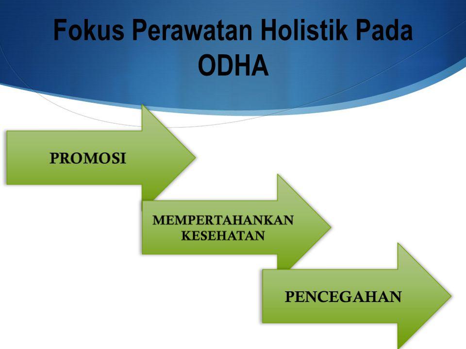 Dokter ODHA Ahli gizi Perawat Konselor Relawan sosial Perawatan paliatif Farmasi