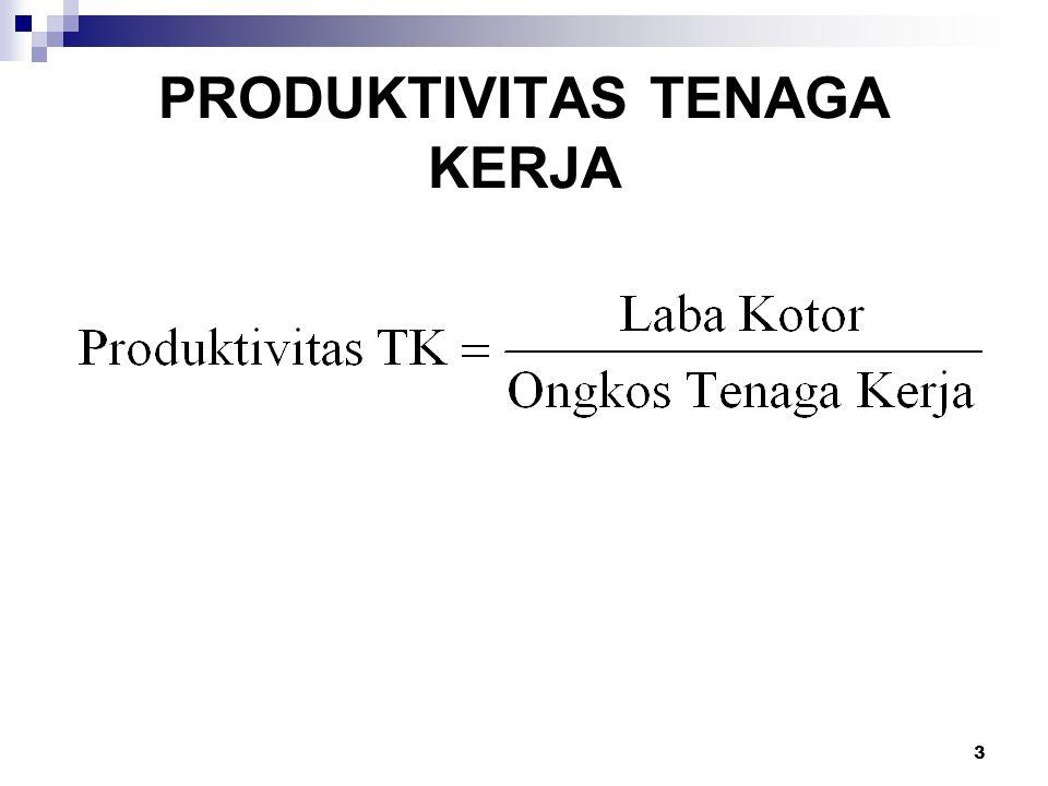 3 PRODUKTIVITAS TENAGA KERJA