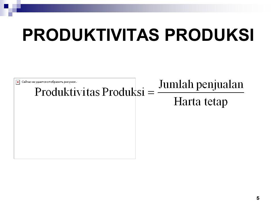 6 PENINGKATAN PRODUKTIVITAS PRODUKSI Perbaikan perencanaan dan pengendalian produksi.