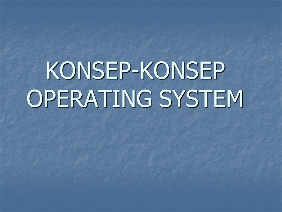 KONSEP-KONSEP OPERATING SYSTEM