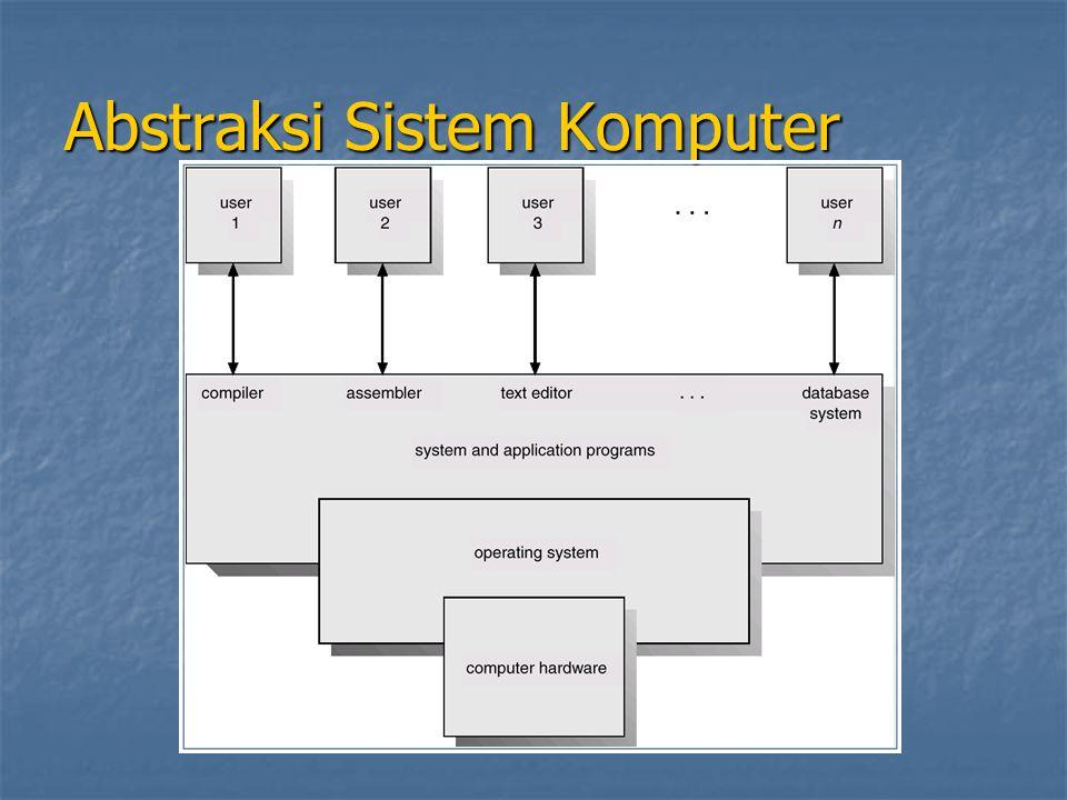 Abstraksi Sistem Komputer