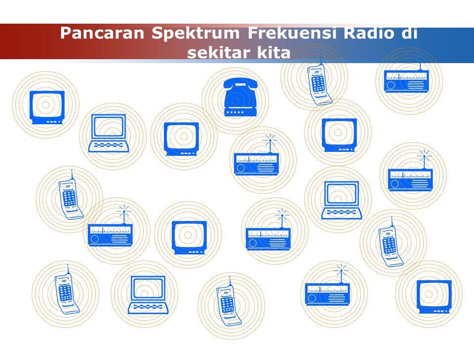 Pancaran Spektrum Frekuensi Radio di sekitar kita                    
