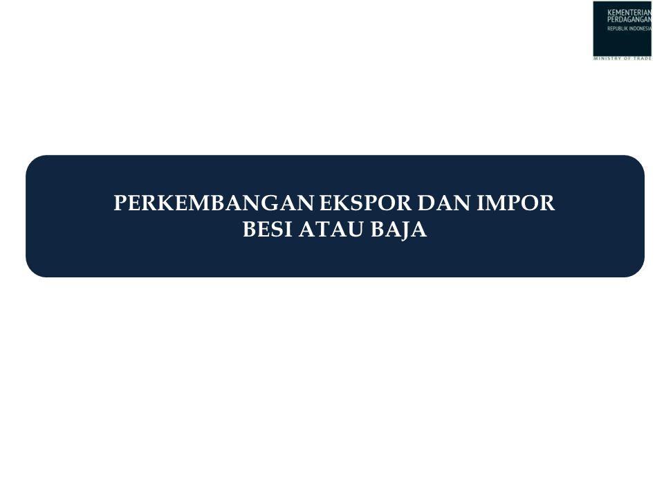 Keterangan : Setiap pelaksanaan impor besi atau baja dan baja paduan wajib dilakukan verifikasi di pelabuhan muat oleh Surveyor 8 BESI ATAU BAJA JENIS BAJA PADUAN Pelaku impor: a.Produsen melalui pengakuan sebagai Importir Produsen (IP) b.Trading melalui penetapan sebagai Importir Terdaftar (IT) untuk disalurkan ke industri pengguna Sebagai bahan baku untuk Industri Tertentu: a.Industri Otomotif b.Industri Elektronika c.Industri Galangan Kapal d.Industri Alat Berat e.Industri Logam (Paku dan Mur) Rekomendasi Kementerian Perindustrian PERUNTUKKAN Importir Produsen (IP) Importir Terdaftar (IT) MEKANISME IMPOR BESI ATAU BAJA DAN BAJA PADUAN Dasar Hukum: 1.Peraturan Menteri Perdagangan No.